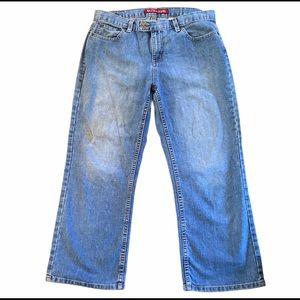 Nautica Crop Straight Leg Jeans